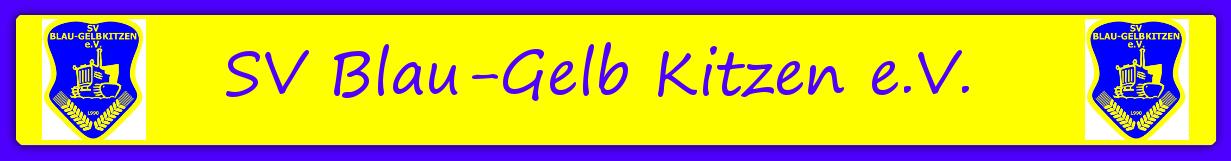 SV Blau-Gelb Kitzen e.V.